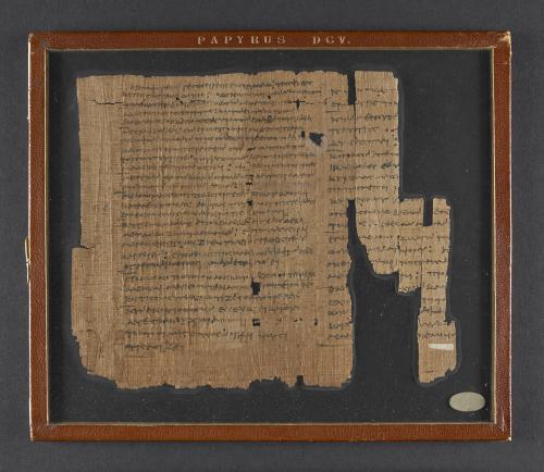A papyrus manuscript, 'Alexandrian Erotic Fragment'