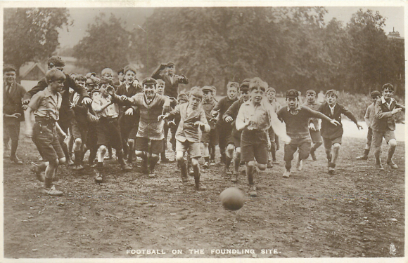 Football on the Foundling Site
