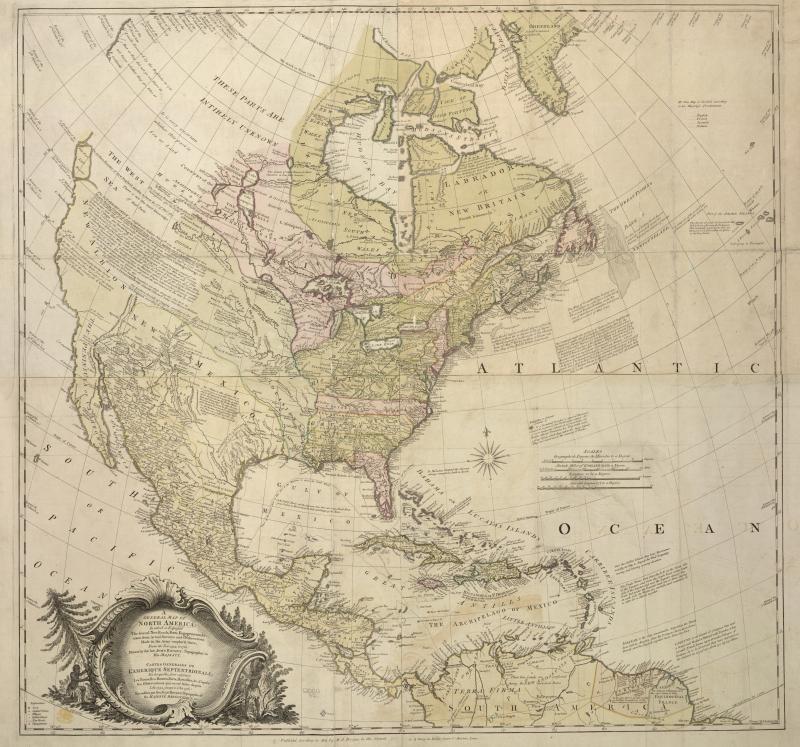 North America (John Rocque)