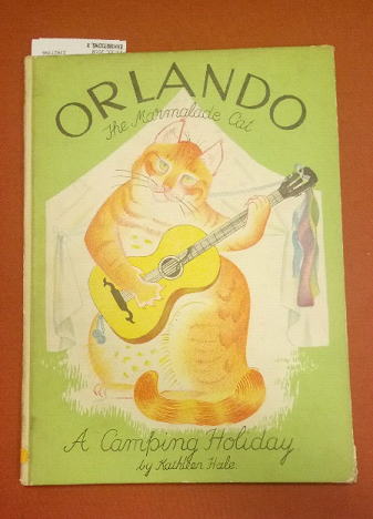 Book entitled Orlando ready for assessment