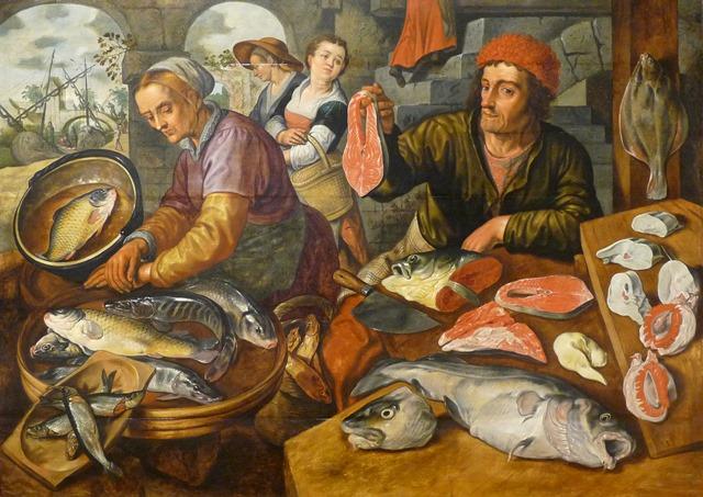 Joachim Beuckelaer- Fish Market