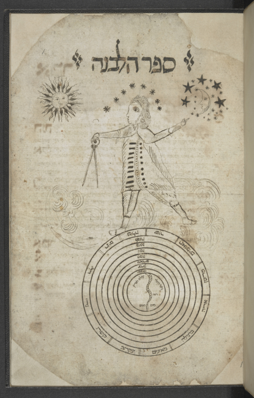 Collection of Astrological, Kabbalistic and Magical Fragments, unknown, 1600–1700. Or 6360, f. 1r