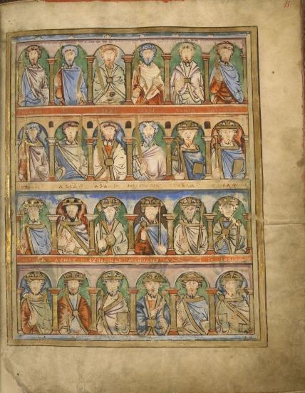 Jesus' ancestors in the Boulogne Gospels