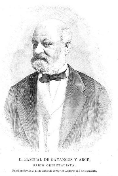 Gayangos portrait