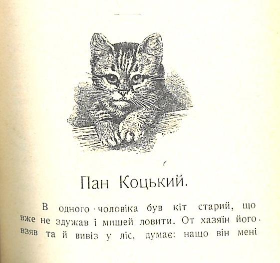 Pan Kotsky Hrinchenko