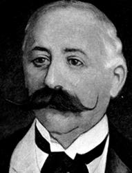 Portrait of Baron Maurice de Hirsch
