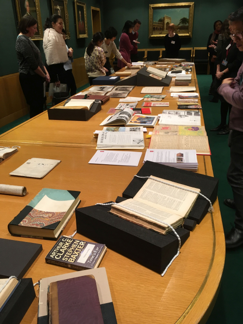 Items on display at the 'Meet the Curators session'