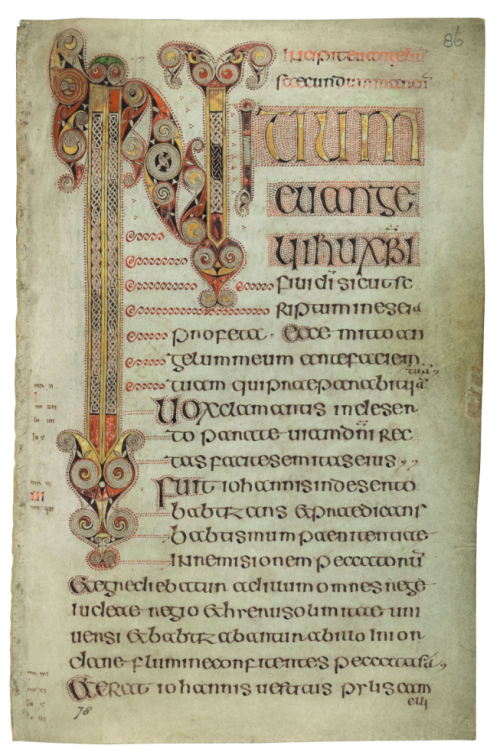 Book of Durrow (Ms.57  ff.85v-86r) (c) The Board of Trinity College  Dublin