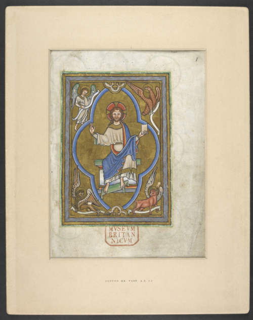 Miniature of Christ in Majesty