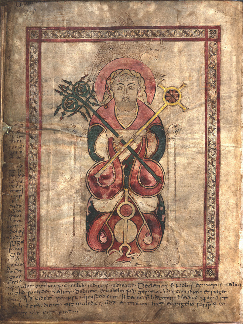 Lichfield Cathedral MS 1  p. 218