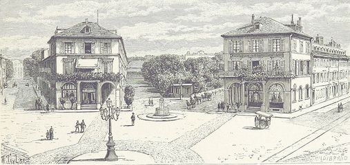 Mulhouse in Alsace 1889