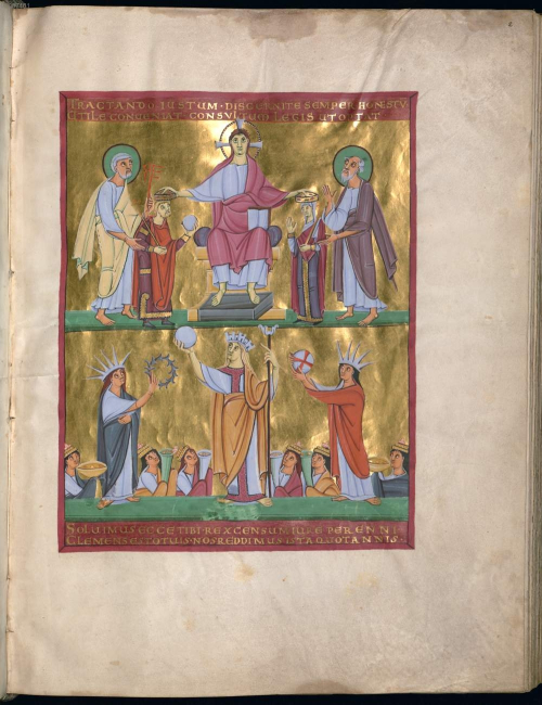 FIG 4 Munich BSB Clm 4452 f. 2r
