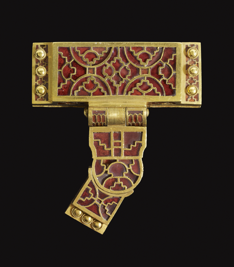 Item from Sutton Hoo © The Trustees of the British Museum. All rights reserved. (2)
