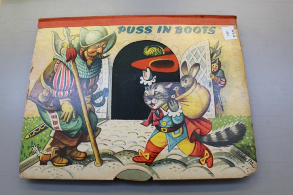 A pop-up edition of Puss in Boots