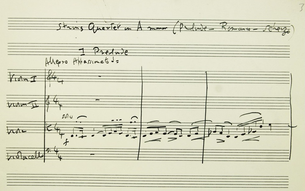 For Jean on her Birthday': Vaughan Williams's String Quartet in A