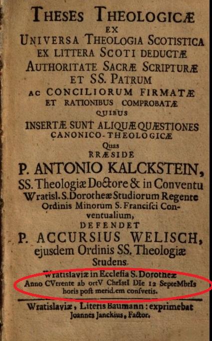 Chronograms RB.23.a.28370