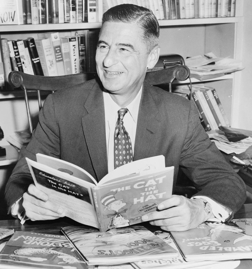 Photograph of Ted Geisel aka Dr. Seuss