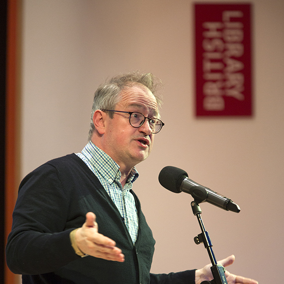 Robin Ince. Photo by George Torode