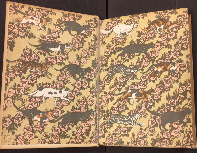Kater Murr endpapers