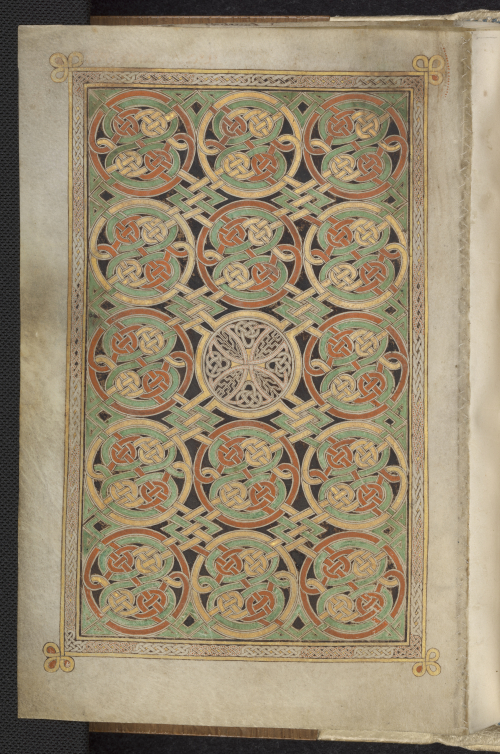 Carpet page in the Book of Durrow