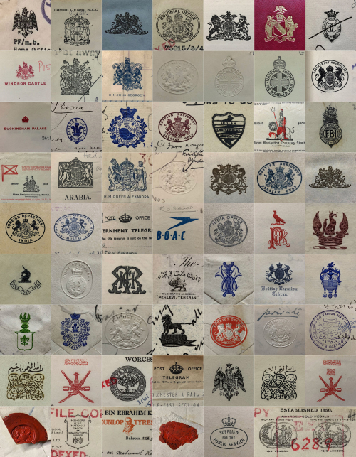 Visual typology (stamps, crests and logos)