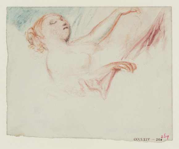 Turner's A Sleeping Woman, perhaps Mrs Booth