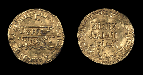 A gold dinar of King Offa