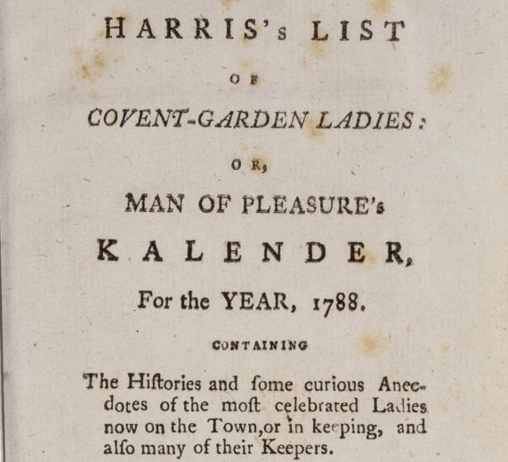 Covent-Garden Ladies title-page 1788 CROPPED
