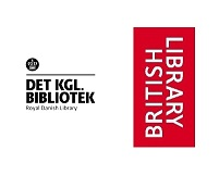 Royal Danish Library logo and British Library logo
