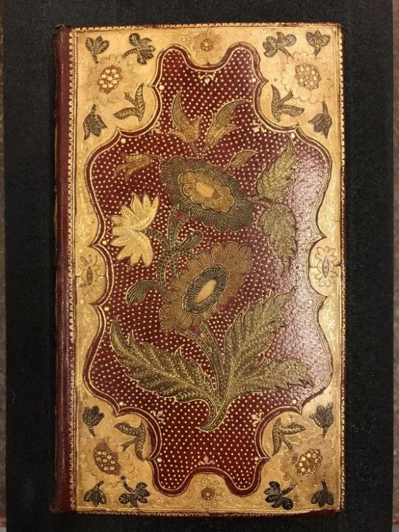 18th-century mosaic binding by Jean Charles Henri Le Monnier
