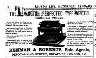 Remington advert_LOU.LD21_13Jan1883new