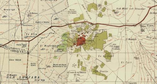 1930s mandate map