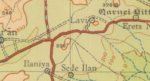 1951 map