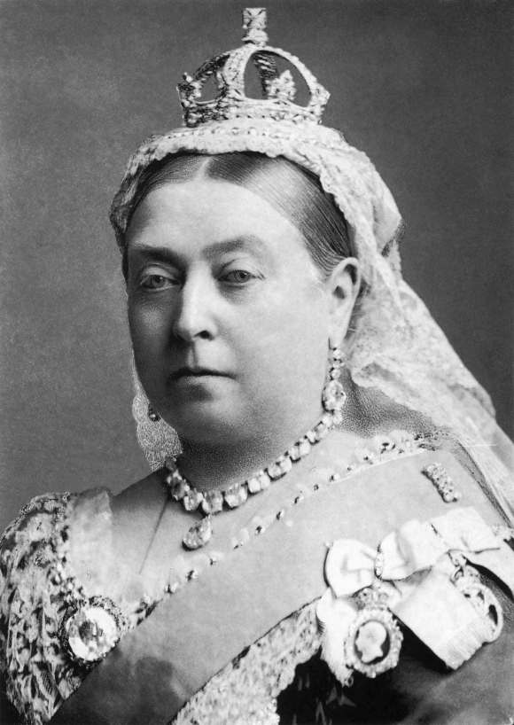 Queen Victoria by Bassano 1882