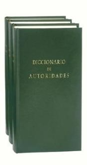 Cover of the facsimile edition of the Diccionario de Autoridades