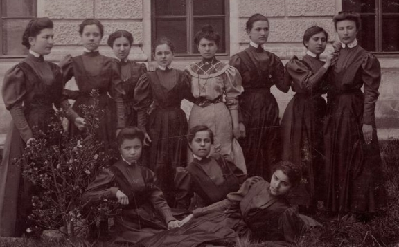 Photograph of women