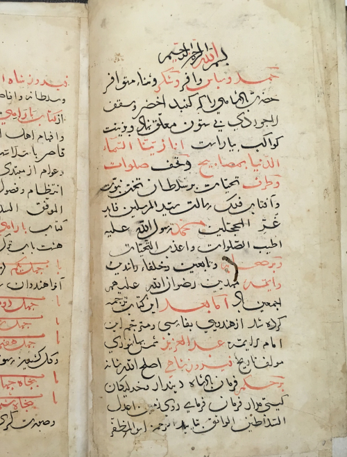 Preface, Tarjumah-i kitāb-i Bārāhī of 'Abd al-'Azīz Shams-i Tahānisārī, 29.3 x 16.2 cm (BL IO Islamic 1262, f.1v)