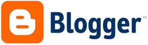Image of Blogger logo-300x91