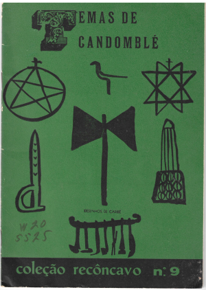 Temas de Candomblé, ill. Carybé (Bahia: Livraria Progresso Editora, 1955) 9 W20/5525. [Copyright: the authors and illustrator]
