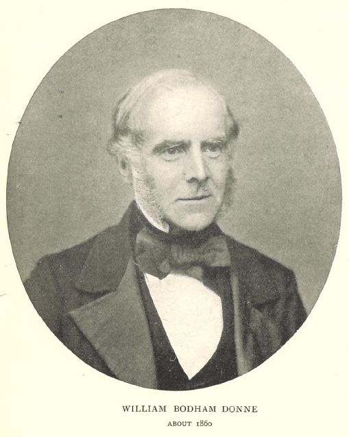 Photograph of William Bodham Donne
