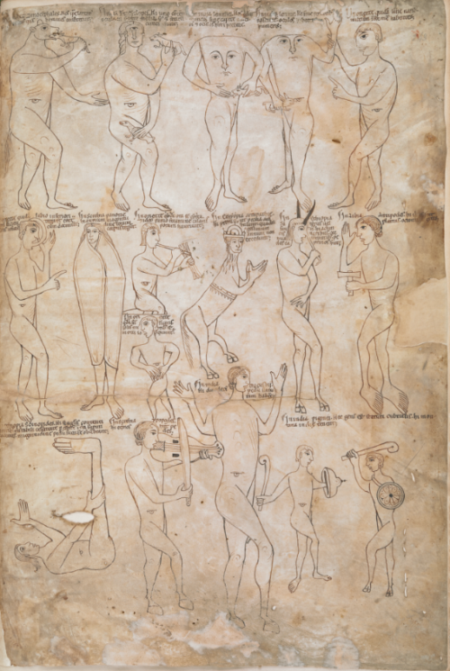 Image 4 - Monstrous Races in the Arnstein Bible