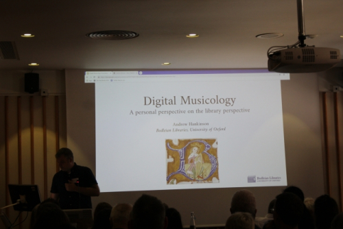 Speakers at the Digital Musicology Study Day