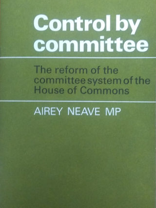 Front page of the Control by Committee pamphlet