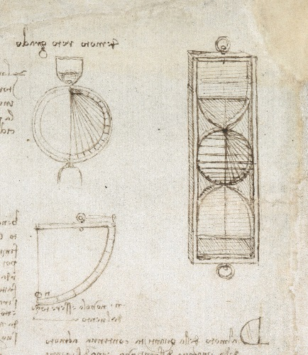 Did Leonardo da Vinci invent the egg timer?