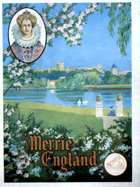 Merrie England  HMV illustration