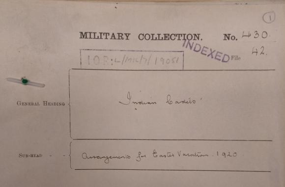 IOR L MIL 17 19051 1