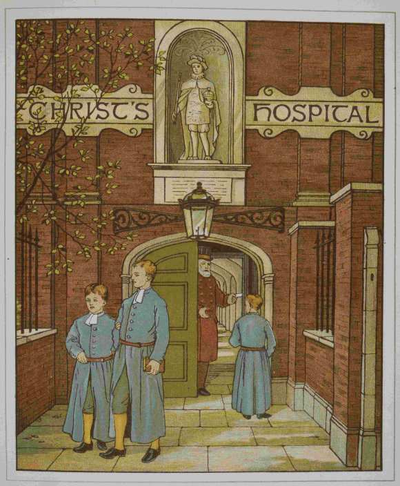 Blue Coat Boys at Christ's Hospital