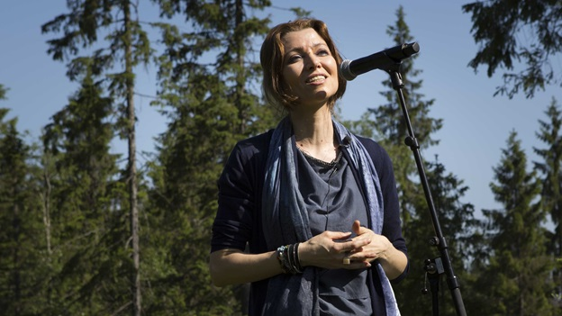 Photograph of Elif Shafak Future Library