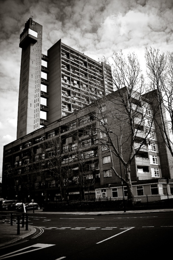 Trellick Tower. Photographed by Mark Ramsay.