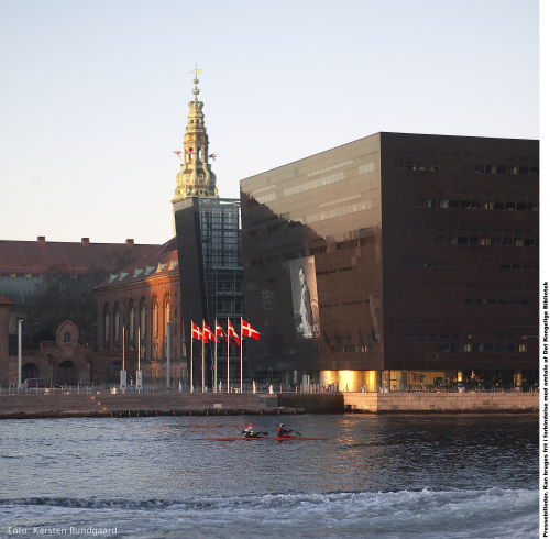 Royal Danish Library, Copenhagen, Denmark